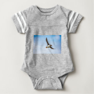 Puffin Bird Sea Flight Wildlife Fly Feather Baby Bodysuit