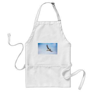 Puffin Bird Sea Flight Wildlife Fly Feather Standard Apron
