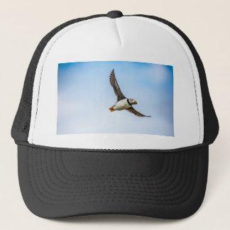 Puffin Bird Sea Flight Wildlife Fly Feather Trucker Hat