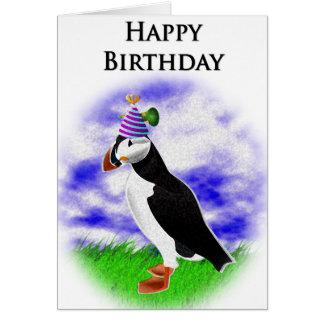 Puffin Birthday Card