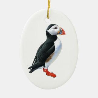 Puffin Ceramic Ornament