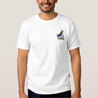 Puffin Embroidered T-Shirt