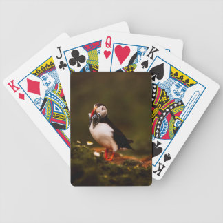 Puffin Fish Animal Bird Wildlife Atlantic Island Bicycle Playing Cards