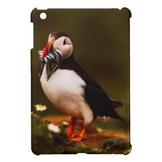 Puffin Fish Animal Bird Wildlife Atlantic Island Cover For The iPad Mini