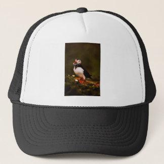 Puffin Fish Animal Bird Wildlife Atlantic Island Trucker Hat