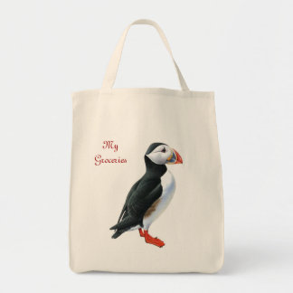 Puffin Grocery Tote