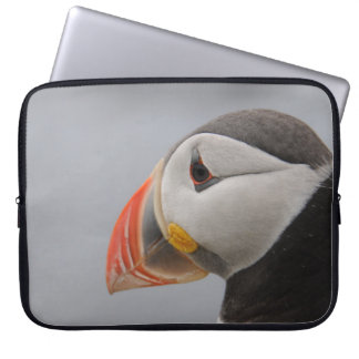Puffin Head Iceland Laptop Sleeve