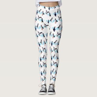Puffin Party Leggings (choose colour)