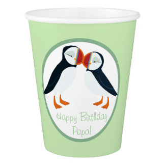 Puffin Rock Party Cup - Mama & Papa Paper Cup