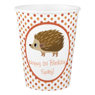 Puffin Rock Party Cup - Spiky