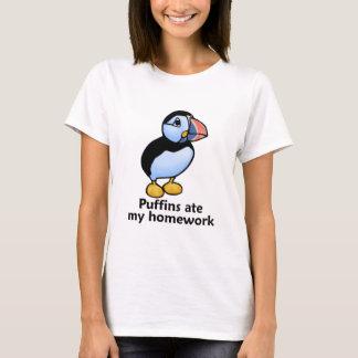 Puffins Ate my Homework T-Shirt