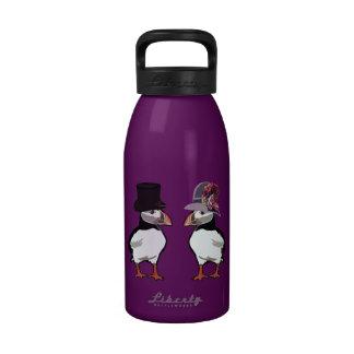 Puffins Meeting Reusable Water Bottles
