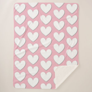 Puffy Hearts Blanket