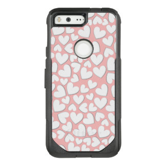 Puffy Hearts OtterBox Commuter Google Pixel Case