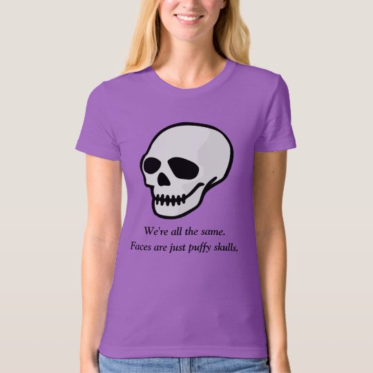 Puffy Skulls Women's T-Shirt