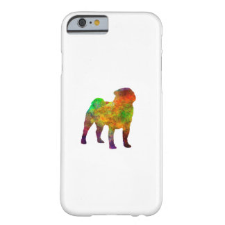 Pug 01 in watercolor barely there iPhone 6 case