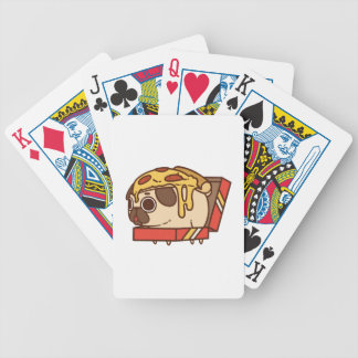 Pug-01 pizza bicycle playing cards