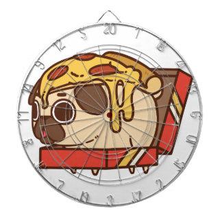 Pug-01 pizza dartboard