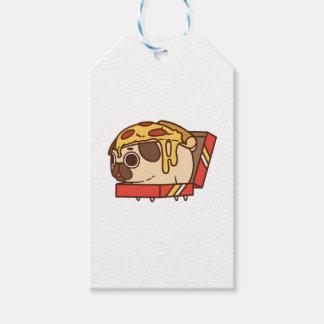 Pug-01 pizza gift tags