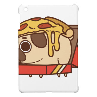 Pug-01 pizza iPad mini case