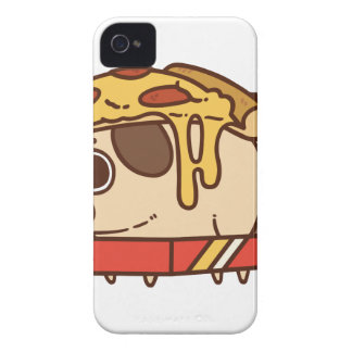 Pug-01 pizza iPhone 4 covers
