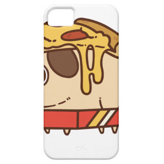 Pug-01 pizza iPhone 5 covers