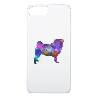 Pug 02 in watercolor iPhone 8 plus/7 plus case