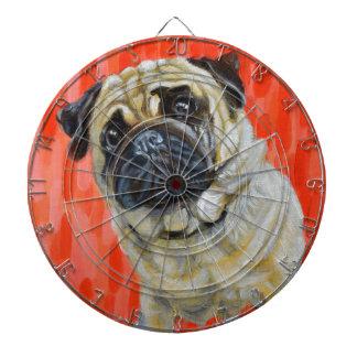 Pug 0range dartboard