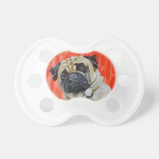 Pug 0range pacifier