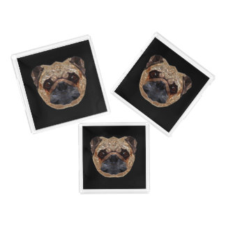 Pug_20170601_by_JAMColors Acrylic Tray