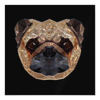 Pug_20170601_by_JAMColors Magnetic Invitations