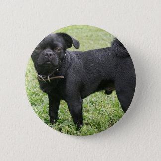 Pug 2 Inch Round Button