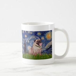 Pug 2 - Starry Night Coffee Mug