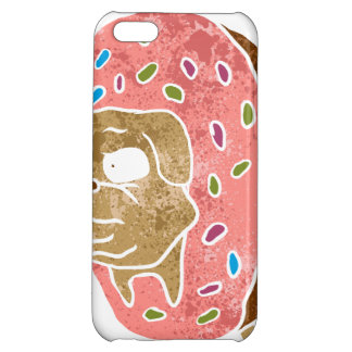 pug and donut. iPhone 5C cases