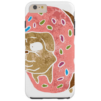 pug and donut. tough iPhone 6 plus case