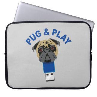 Pug And Play Laptop Sleeve