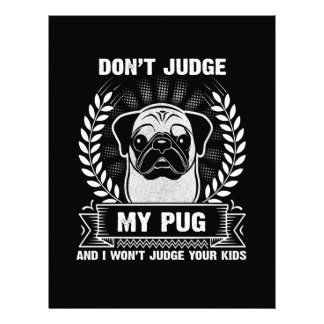 Pug Animal Personalized Letterhead