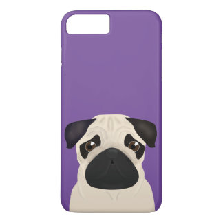 Pug Apple iPhone 7 Plus, Barely There Phone Case