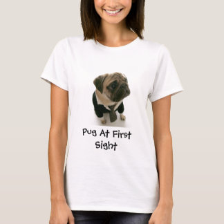 Pug At First Sight T-Shirt