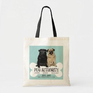 Pug Authority Budget Tote