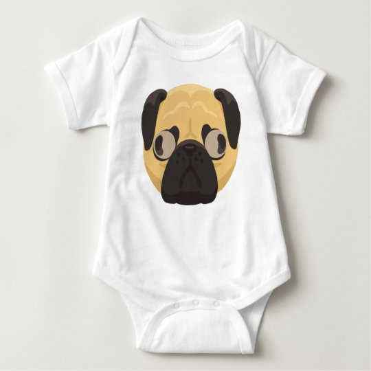 Pug Baby Clothes Baby Bodysuit