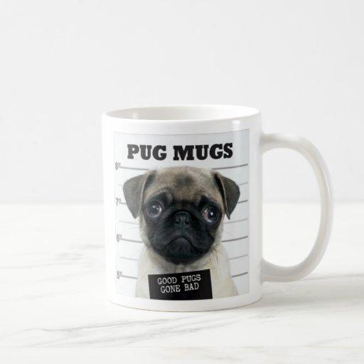pug bad coffee mug