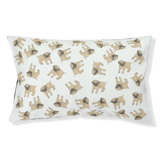 Pug Bed (choose background colour)