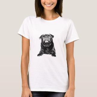 Pug - Black PUG  Black & White T-Shirt