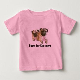 Pug  Breast Cancer Toddler Unisex Shirt