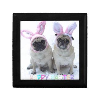 Pug bunny's gift box
