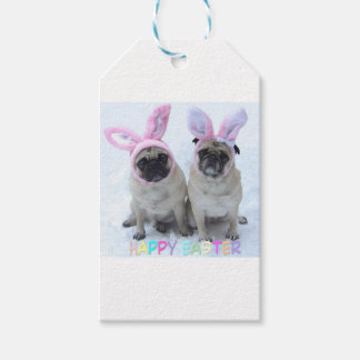 Pug bunny's gift tags