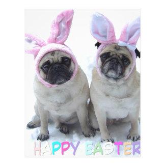 Pug bunny's letterhead