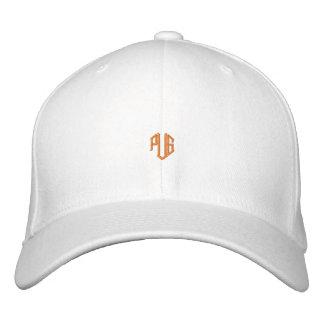 PUG CAP WHITE/ORANGE