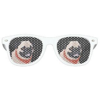 Pug Cartoon Retro Sunglasses